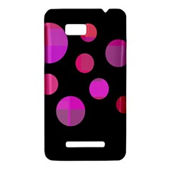 Pink abstraction HTC One SU T528W Hardshell Case