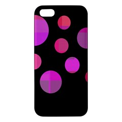 Pink abstraction Apple iPhone 5 Premium Hardshell Case