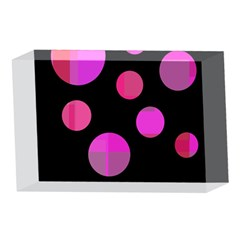 Pink abstraction 4 x 6  Acrylic Photo Blocks