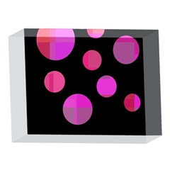 Pink abstraction 5 x 7  Acrylic Photo Blocks