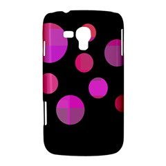 Pink abstraction Samsung Galaxy Duos I8262 Hardshell Case