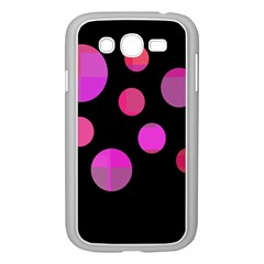 Pink abstraction Samsung Galaxy Grand DUOS I9082 Case (White)