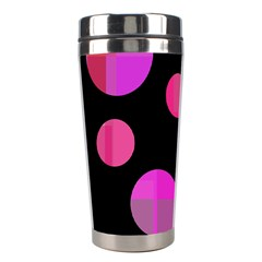 Pink abstraction Stainless Steel Travel Tumblers