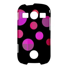 Pink abstraction Samsung Galaxy S7710 Xcover 2 Hardshell Case