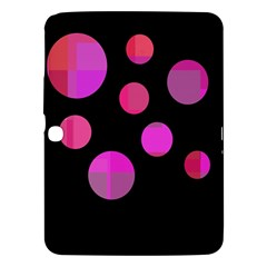 Pink abstraction Samsung Galaxy Tab 3 (10.1 ) P5200 Hardshell Case
