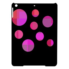 Pink abstraction iPad Air Hardshell Cases