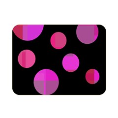 Pink abstraction Double Sided Flano Blanket (Mini)