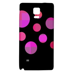 Pink abstraction Galaxy Note 4 Back Case
