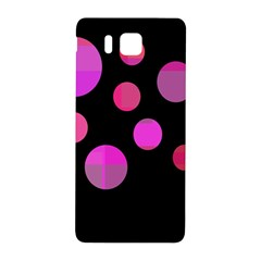 Pink abstraction Samsung Galaxy Alpha Hardshell Back Case