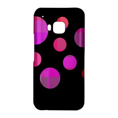 Pink abstraction HTC One M9 Hardshell Case