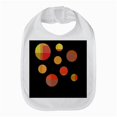 Orange Abstraction Bib