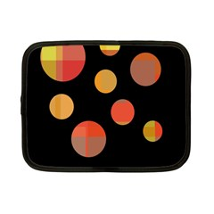 Orange abstraction Netbook Case (Small)