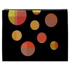 Orange abstraction Cosmetic Bag (XXXL)