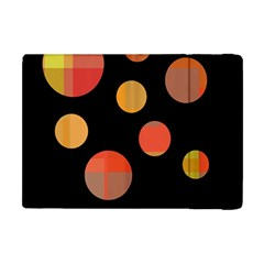 Orange abstraction Apple iPad Mini Flip Case