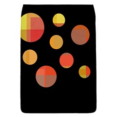 Orange abstraction Flap Covers (S)