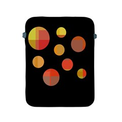 Orange abstraction Apple iPad 2/3/4 Protective Soft Cases