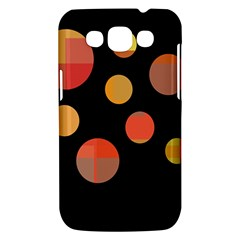 Orange abstraction Samsung Galaxy Win I8550 Hardshell Case
