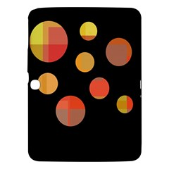 Orange abstraction Samsung Galaxy Tab 3 (10.1 ) P5200 Hardshell Case