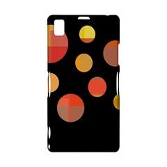 Orange abstraction Sony Xperia Z1