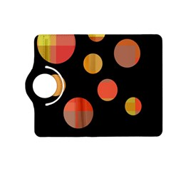 Orange abstraction Kindle Fire HD (2013) Flip 360 Case