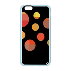 Orange abstraction Apple Seamless iPhone 6/6S Case (Color)