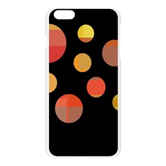 Orange abstraction Apple Seamless iPhone 6 Plus/6S Plus Case (Transparent)