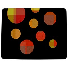 Orange abstraction Jigsaw Puzzle Photo Stand (Rectangular)