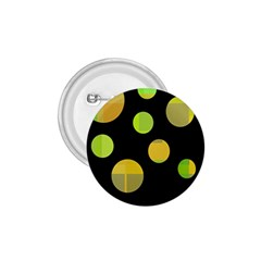 Green abstract circles 1.75  Buttons