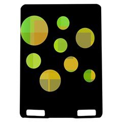 Green abstract circles Kindle Touch 3G