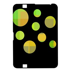 Green abstract circles Kindle Fire HD 8.9