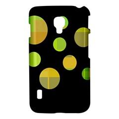 Green abstract circles LG Optimus L7 II