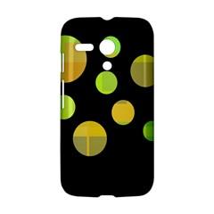 Green abstract circles Motorola Moto G