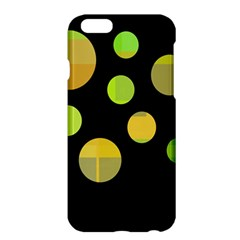Green abstract circles Apple iPhone 6 Plus/6S Plus Hardshell Case