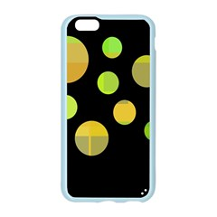 Green abstract circles Apple Seamless iPhone 6/6S Case (Color)