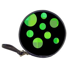 Green circles Classic 20-CD Wallets