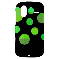 Green circles HTC Amaze 4G Hardshell Case