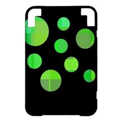 Green circles Kindle 3 Keyboard 3G