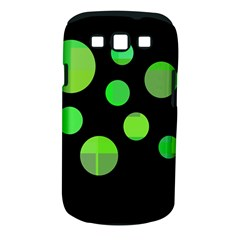 Green circles Samsung Galaxy S III Classic Hardshell Case (PC+Silicone)