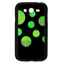 Green circles Samsung Galaxy Grand DUOS I9082 Case (Black)