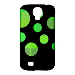 Green circles Samsung Galaxy S4 Classic Hardshell Case (PC+Silicone)