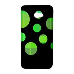 Green circles HTC Butterfly S/HTC 9060 Hardshell Case