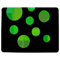 Green circles Jigsaw Puzzle Photo Stand (Rectangular)