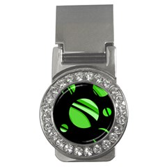 Green balls   Money Clips (CZ)