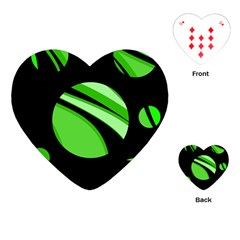 Green balls   Playing Cards (Heart)