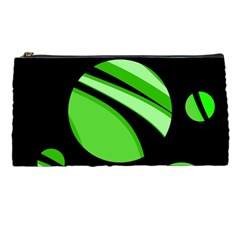 Green balls   Pencil Cases