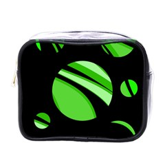 Green balls   Mini Toiletries Bags