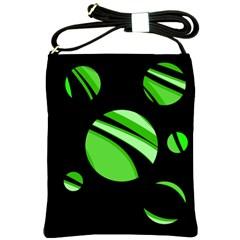 Green balls   Shoulder Sling Bags