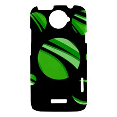 Green balls   HTC One X Hardshell Case