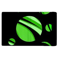 Green balls   Apple iPad 3/4 Flip Case