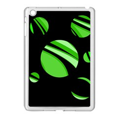 Green balls   Apple iPad Mini Case (White)